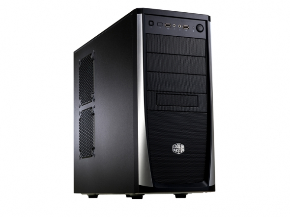 Корпус Cooler Master Elite 371 Miditower Без БП Чёрный, RC-371-KKN1