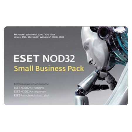 Право пользования ESET NOD32 Small Business Pack Рус. 10 Card 12 мес., NOD32-SBP-NS(CARD)-1-10