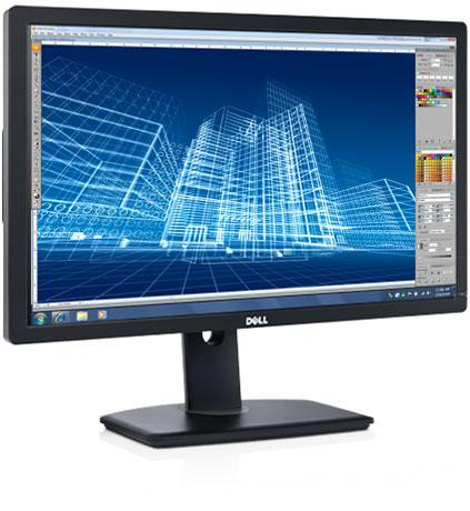 "Монитор Dell U2413 24"" LED IPS Чёрный, 2413-3634"