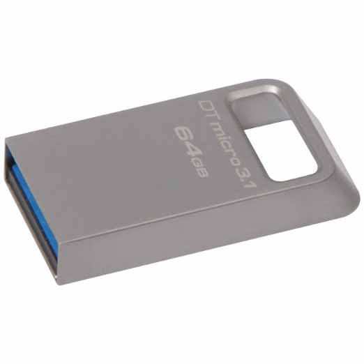 USB накопитель Kingston DataTraveler Micro 3.1 USB 3.1 64GB, DTMC3/64GB