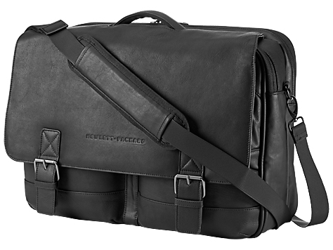 "Сумка HP Executive Leather Messenger 14"" Чёрный, K0S31AA"