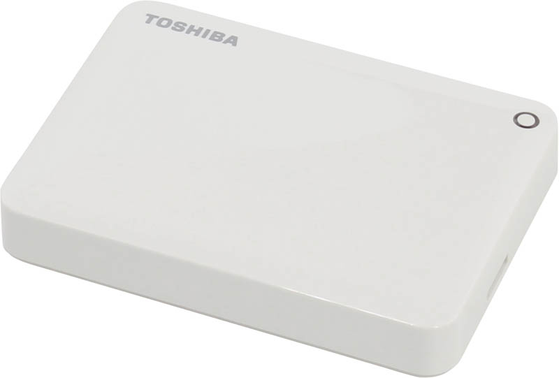 "Внешний диск HDD Toshiba Canvio Connect II 2TB 2.5"" USB 3.0 Белый, HDTC820EW3CA"
