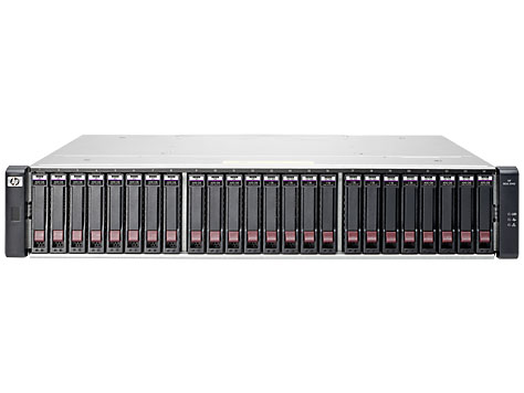 "Система хранения HP Enterprise MSA 1040 24x2.5"" Fibre Channel 8Gb, P9R11A"