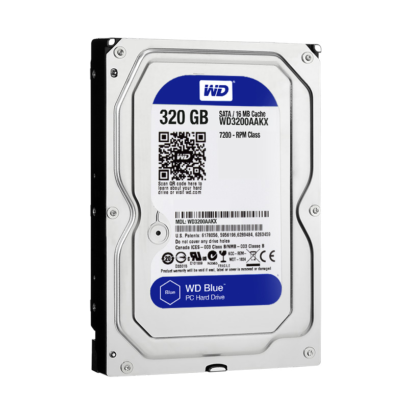 "Диск HDD Western Digital Blue SATA III (6Gb/s) 3.5"" 320GB, WD3200AAKX"