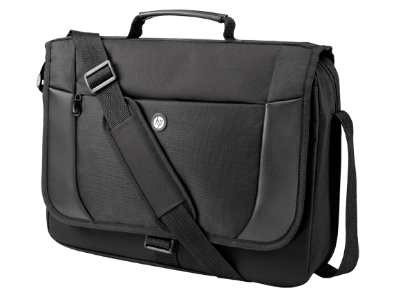 "Сумка HP Essential Messenger 17.3"" Чёрный, H1D25AA"