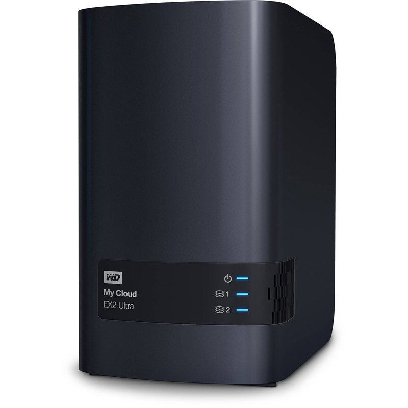 Настольная система хранения Western Digital My Cloud EX2 Ultra 2-bay, WDBSHB0000NCH-EEUE