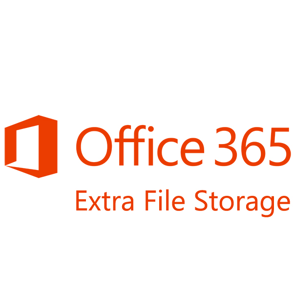 Подписка Microsoft Office 365 Extra File Storage Single OLP 12 мес., 5A5-00003