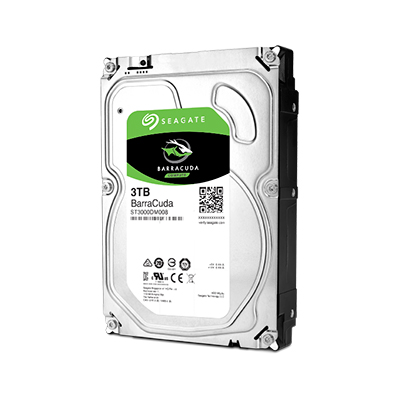 "Диск HDD Seagate BarraCuda SATA III (6Gb/s) 3.5"" 3TB, ST3000DM008"
