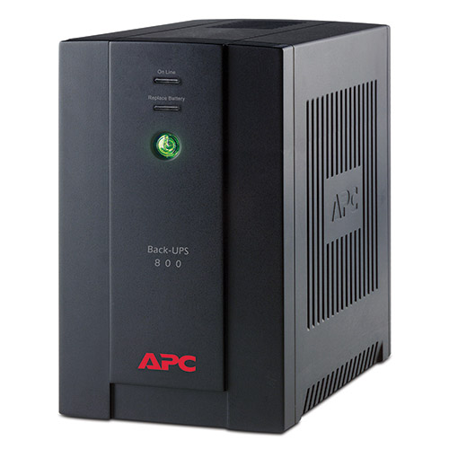 ИБП APC by Schneider Electric Back-UPS 800VA, BX800CI-RS