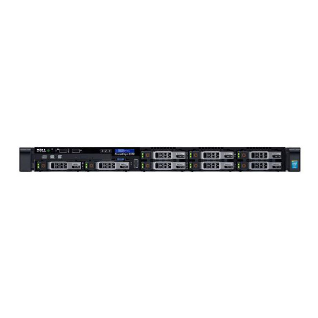 "Сервер Dell PowerEdge R330 2.5"" Rack 1U, 210-AFEV/029"