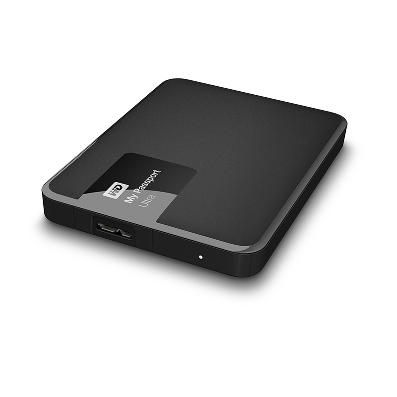 "Внешний диск HDD Western Digital My Passport Ultra 1TB 2.5"" USB 3.0 Чёрный, WDBDDE0010BBK-EEUE"