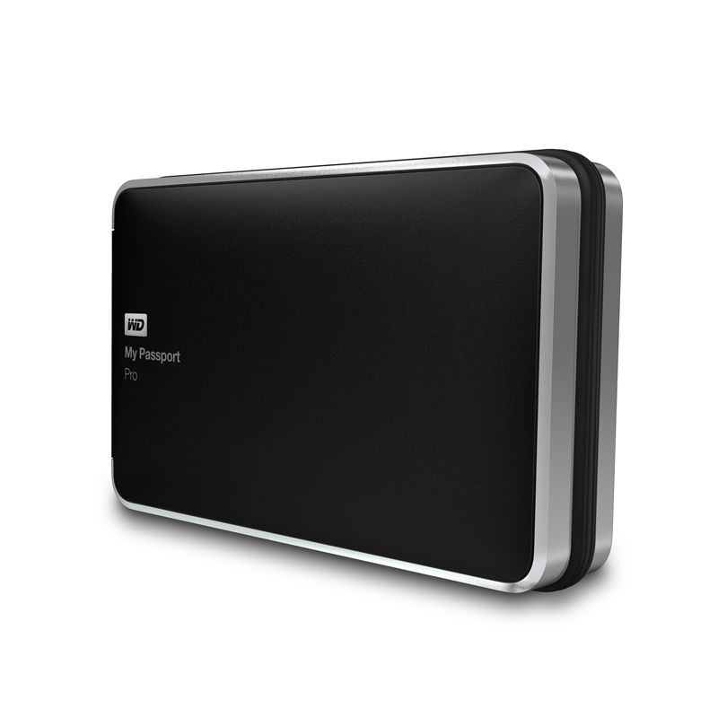 "Внешний диск HDD Western Digital My Passport Pro 2TB 2.5"" Thunderbolt Чёрный, WDBRMP0020DBK-EESN"