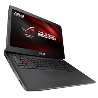 "Игровой ноутбук Asus G751JY-T7449T 17.3"" 1920x1080 (Full HD) Intel Core i7 4750HQ 16 ГБ HDD + SSD 1TB + 128GB nVidia GeForce GTX 980M GDDR5 4GB Windows 10 Home 64, 90NB06F1-M07110 - фото 1"