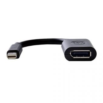 Переходник Dell miniDisplayPort (Male) -> DisplayPort (Female) 0.1м, 470-13627