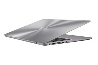 "Ультрабук Asus Zenbook UX310UQ-GL161R 13.3"" 1920x1080 (Full HD) Intel Core i7 6500U 12 ГБ HDD + SSD 1TB + 128GB nVidia GeForce GT 940MX GDDR5 2GB Windows 10 Pro 64, 90NB0CL1-M02350 - фото 1"