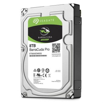 "Диск HDD Seagate SATA III (6Gb/s) 3.5"" BarraCuda Pro 7K 256MB 8TB ST8000DM005"