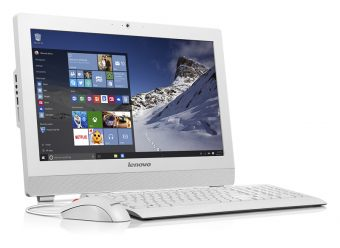 "Моноблок Lenovo S200z 19.5"" Intel Celeron N3050 1x4GB 500GB Intel HD Graphics FreeDOS 10K10006RU - фото 1"