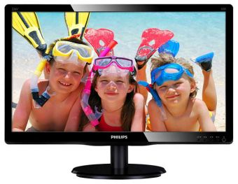 "Монитор Philips 226V4LSB 21.5"" LED TN 250кд/м² 1920x1080 (Full HD) Чёрный 226V4LSB/01"