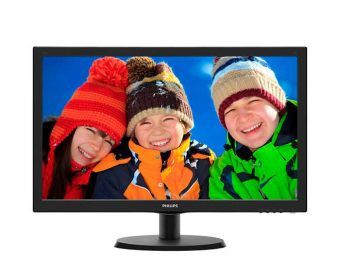 "Монитор Philips 223V5LSB 21.5"" LED TN 250кд/м² 1920x1080 (Full HD) Чёрный 223V5LSB/00"
