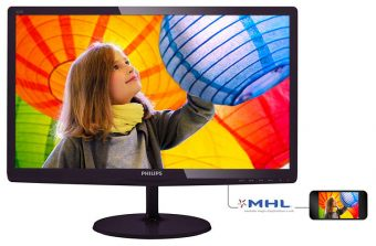 "Монитор Philips 227E6LDSD 21.5"" LED TN 250кд/м² 1920x1080 (Full HD) Чёрный 227E6LDSD/00"