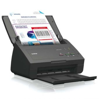 Сканер EPSON WorkForce DS-520N Протяжный A4 600 x 600dpi Чёрный B11B234401BT - фото 1