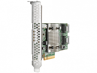 Адаптер главной шины HP Enterprise H240 Smart Host Bus Adapter SAS-3 12 Гб/с Low Profile 726907-B21