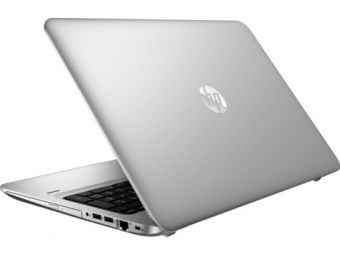 "Ноутбук HP ProBook 455 G4 15.6"" 1366x768 (WXGA) AMD A10 9600 4 ГБ HDD 500GB AMD Radeon R6 Windows 10 Pro 64, Y8A72EA - фото 1"