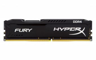 Модуль памяти Kingston HyperX FURY Black 8ГБ DIMM DDR4 non ECC 2133МГц D8 (2Rx8) CL14 1.2В HX421C14FB/8