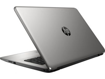 "Ноутбук HP 17-x010ur 17.3"" 1920x1080 (Full HD) Intel Core i3 5005U 4 ГБ HDD 1TB AMD Radeon R5 M430 DDR3 2GB Windows 10 Home 64, X5W72EA - фото 1"