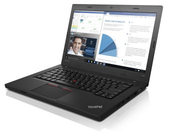 "Ноутбук Lenovo ThinkPad L460 14"" 1366x768 (WXGA) Intel Core i5 6200U 8 ГБ HDD 1TB Intel HD Graphics 520 FreeDOS, 20FUS06L00 - фото 1"