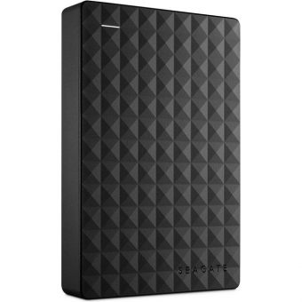 "Внешний диск HDD Seagate Expansion Portable 4TB 2.5"" USB 3.0 Чёрный STEA4000400 - фото 1"