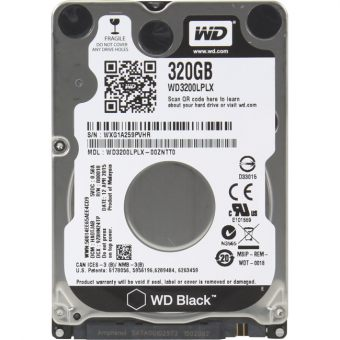 "Диск HDD Western Digital SATA III (6Gb/s) 2.5"" Black 7K 32MB 320GB WD3200LPLX"
