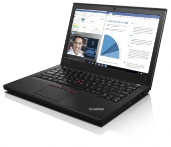 "Ультрабук Lenovo ThinkPad X260 12.5"" 1366x768 (WXGA) Intel Core i7 6500U 8 ГБ SSD 256GB Intel HD Graphics 520 Windows 7 Professional 64 + Windows 10 Pro 64, 20F6S02900 - фото 1"