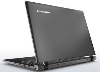 "Ноутбук Lenovo B50-10 15.6"" 1366x768 (WXGA) Intel Celeron N2840 2 ГБ HDD 500GB Intel HD Graphics FreeDOS, 80QR004ERK - фото 1"