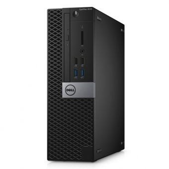 Настольный компьютер Dell Optiplex 3040 Intel Core i5 6500 1x8GB 500GB Intel HD Graphics 530 Windows 7 Professional 64 + Windows 10 Pro 64 3040-9914 - фото 1