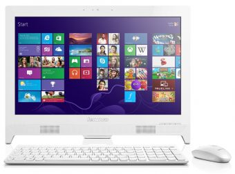 "Моноблок Lenovo C260 19.5"" Intel Celeron J1800 1x2GB 500GB Intel HD Graphics Windows 8 64 57328290 - фото 1"