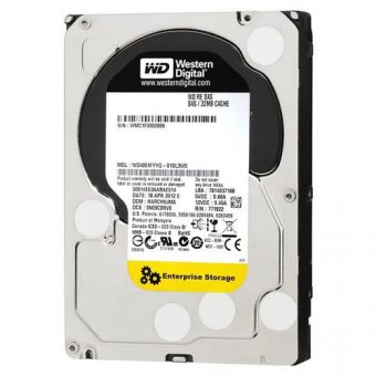 "Диск HDD Western Digital SAS 2.0 (6Gb/s) 3.5"" RE 7K 32MB 3TB WD3001FYYG"