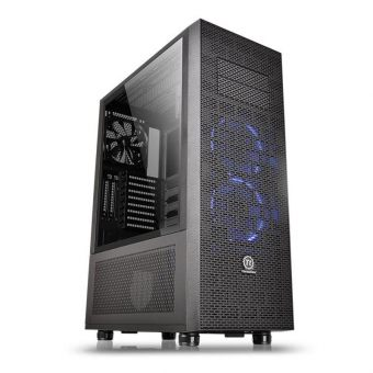 Корпус Thermaltake Core X71 Tempered Glass Edition Tower Без БП Чёрный (ATX/mATX/mITX) CA-1F8-00M1WN-02 - фото 1
