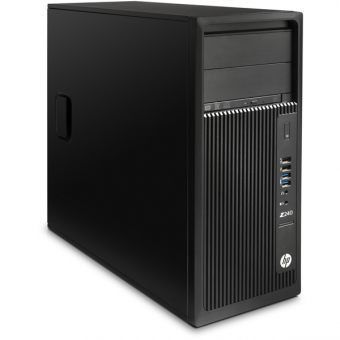 Рабочая станция HP Z240 Intel Core i7 6700K 2x8GB 512GB nVidia Quadro K1200 Windows 10 Pro 64 Y3Y11EA - фото 1