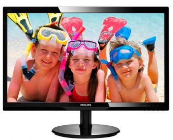 "Монитор Philips 246V5LSB 24"" LED TN 250кд/м² 1920x1080 (Full HD) Чёрный 246V5LSB/00"