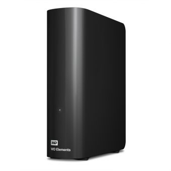 "Внешний диск HDD Western Digital Elements Desktop 3TB 3.5"" USB 3.0 Чёрный WDBWLG0030HBK-EESN - фото 1"